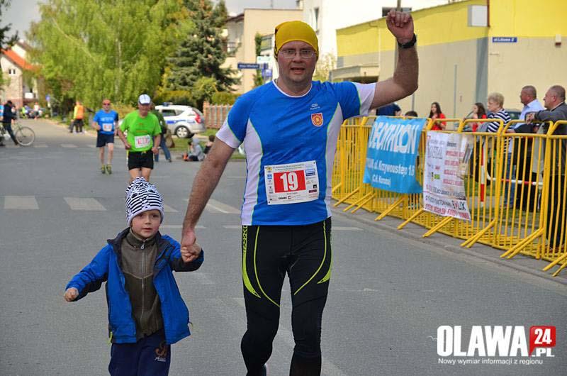 Finish w maratonie