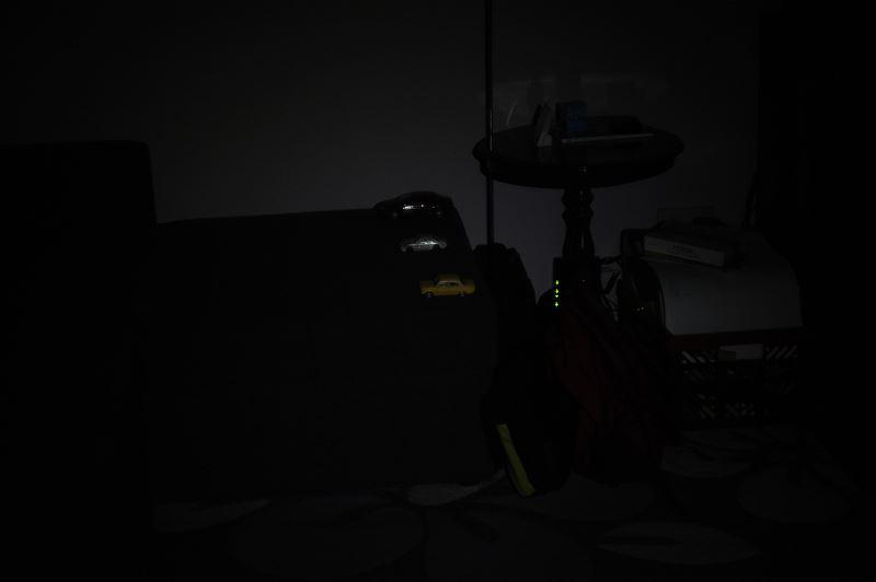 Światło na 4m, połowa mocy