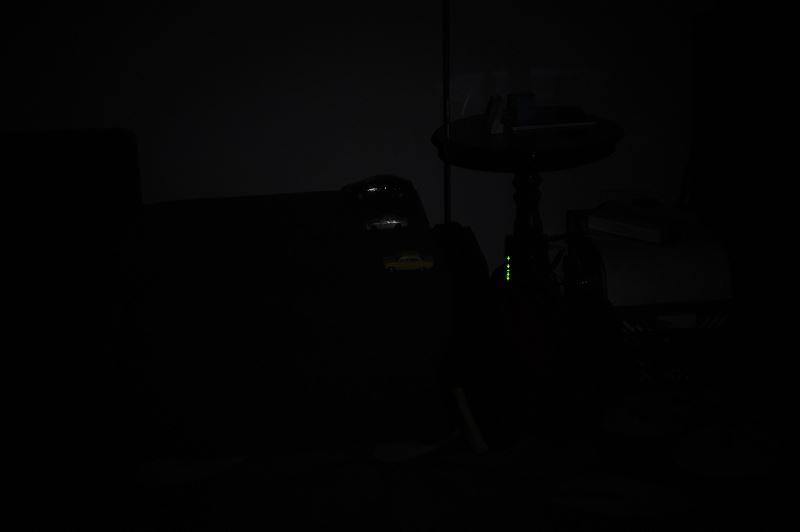Światło na 4m, najniższa moc