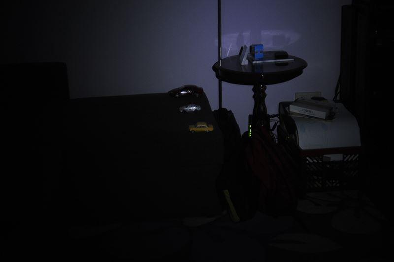 Światło na obiekty w odległości 4m