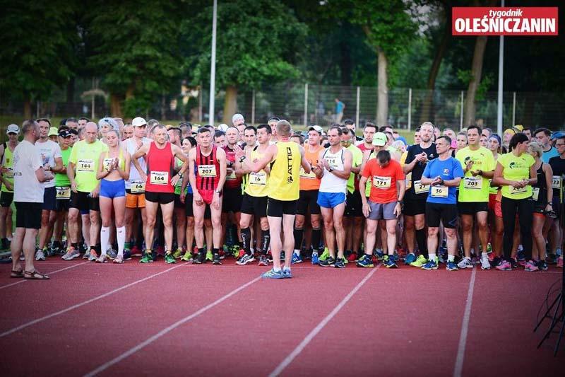Bieg Szerszenia - oczekiwanie na start
