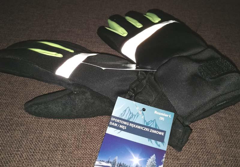 Rękawice zimowe Aldi