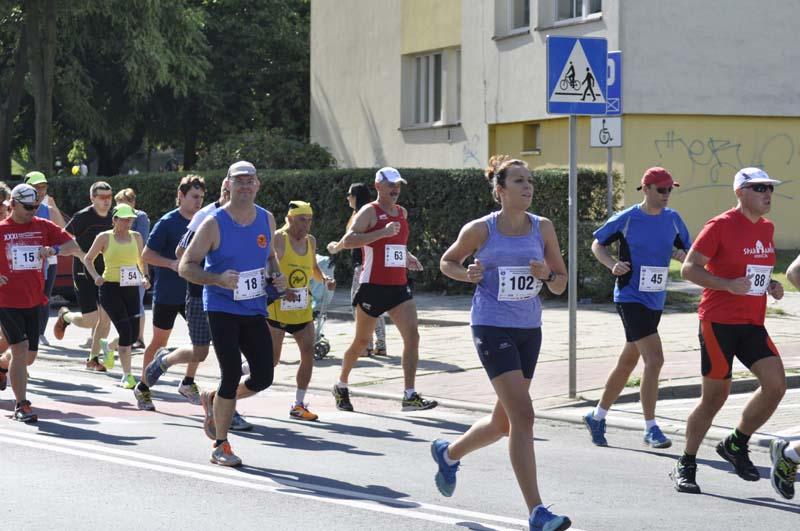 Na trasie biegu XXXI Memoriał B. Psujka