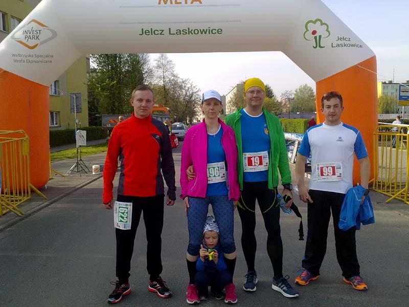 Przed startem w maratonie J-L