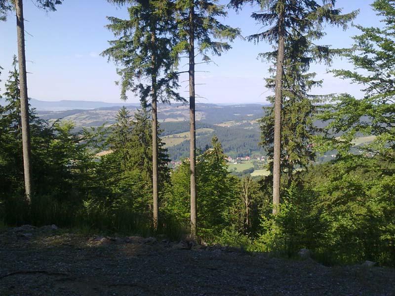 Widoki z tras Sowiogorskich