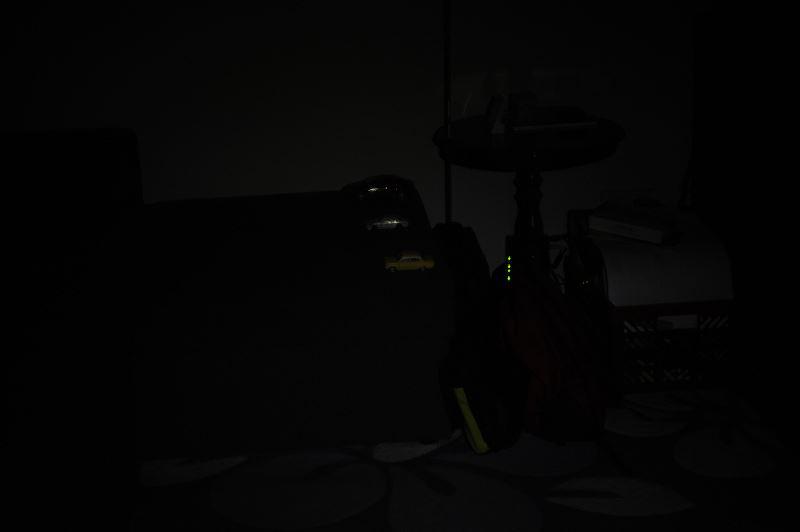 Światło na 2m, połowa mocy