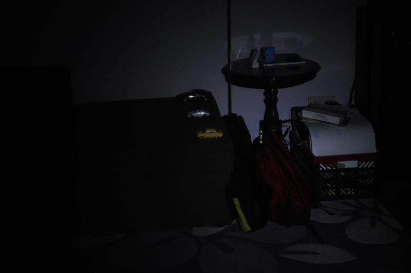 Światło na obiekty w odległości 2m