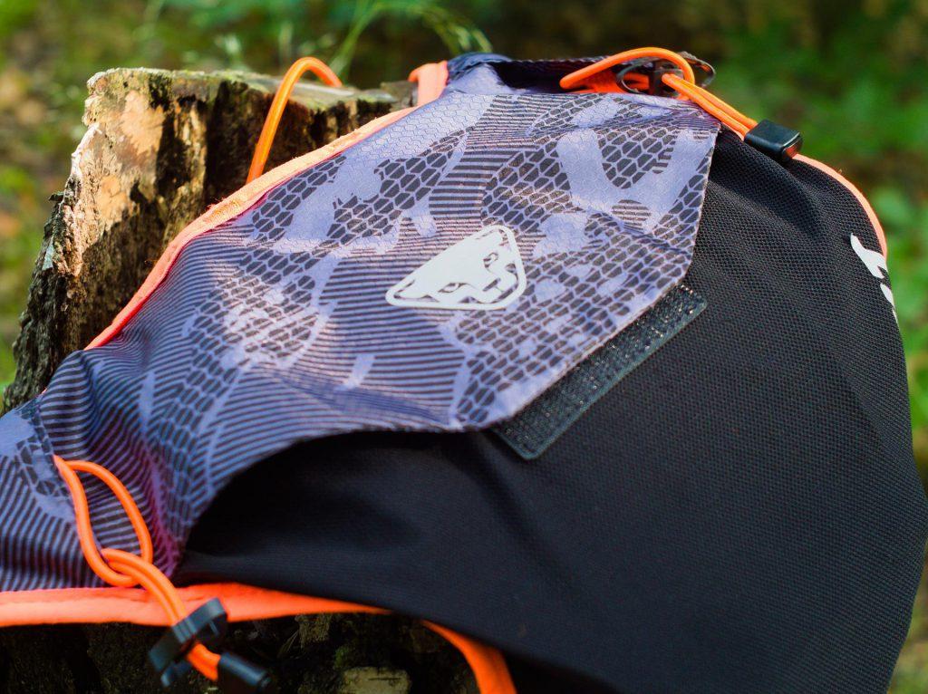 Plecak biegowy Dynafit - Vert4. Logo.